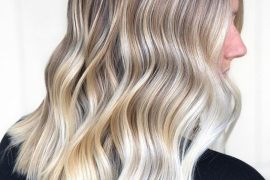 Platinum Blonde Hair Colors for Medium Length Hair
