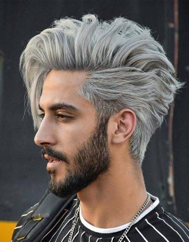 Unique Mens Hair Color Ideas & Style for 2019