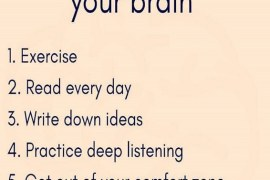 6 Tips to Train Your Brain - Inspirational Quotes