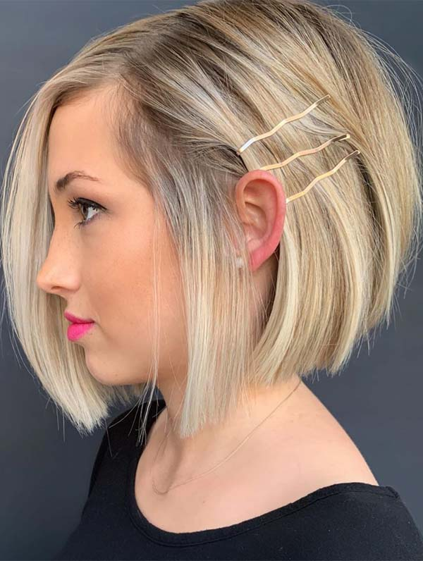Incredible Short Bob Haircuts for Women to Sport in 2019 ...