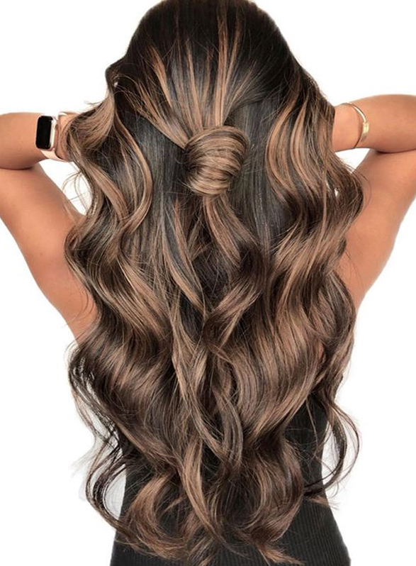 Gorgeous dimensional brunette balayage hair color shades in 2019