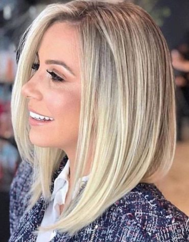 Stylish Look of Blonde Balayage Short Hair for 2020