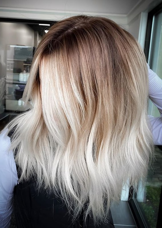 Awesome Balayage Shades with Dark Roots in Year 2020