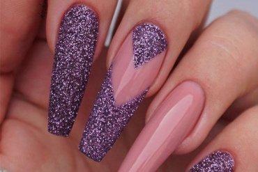 Cute Purple Nail Designs & Looks for 2020