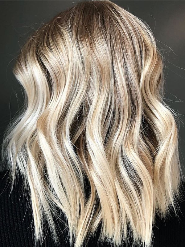 Goldern Balayage Hair Color Shades to Show Off in Year 2020