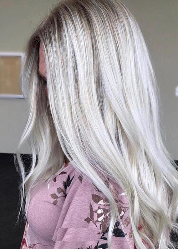 Ice Blonde Hair Color Shades to Show Off in 2020
