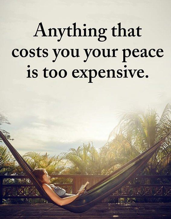 Peace is to Expensive - Best Peace Quotes & Sayings