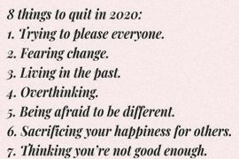 8 Things to Quit In 2020 - Best Quotes & Sayings