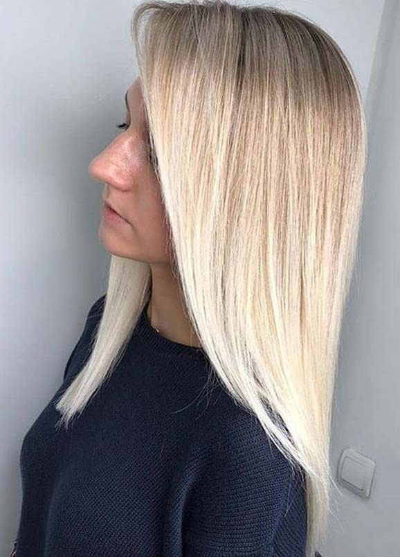 Beautiful long blonde hairstyles to Create in 2020