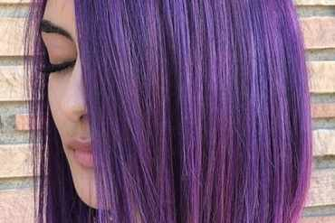 Beautiful purple bob haircuts for women in 2020