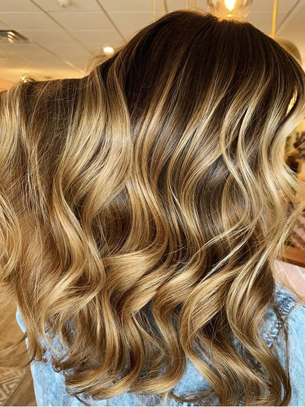 Cutest Golden Balayage Hair Colors and Hairstyles for 2020