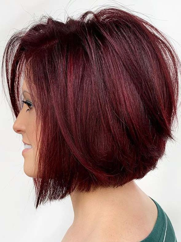 Hottest Short Red Bob Haircuts for Women in 2020