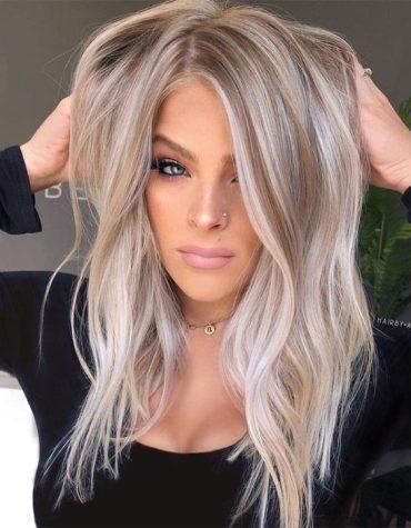 Trendy Balayage Hair Ideas for Blonde Girls