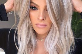 Trendy Balayage Hair Ideas for Blonde Girls