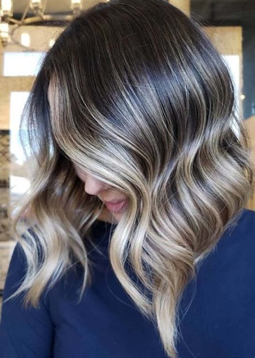 Brunette Balayage Hair Color Trends to Follow in 2020