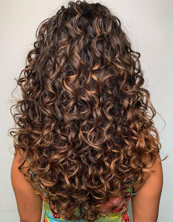 Fabulous Long Curly Haircuts & Hairstyles for 2020