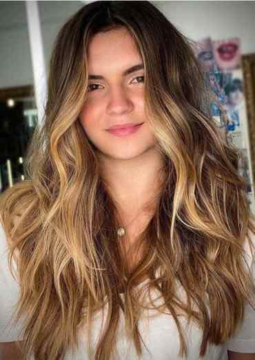 Face Framing Long Balayage Hairstyles for Women in 2020
