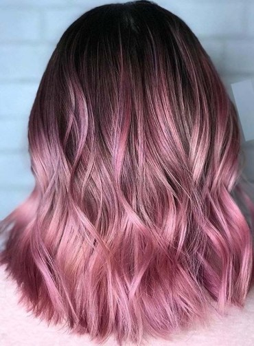 Adorable Soft Pink Hair Color Shades for Women in 2020
