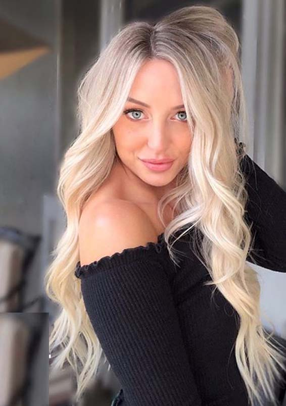 Awesome Long Blonde Hairstyles for Women and Girls in 2020