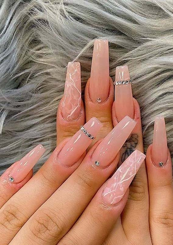 Amazing Long Nails Designs For Every Woman In 2020 Stylezco