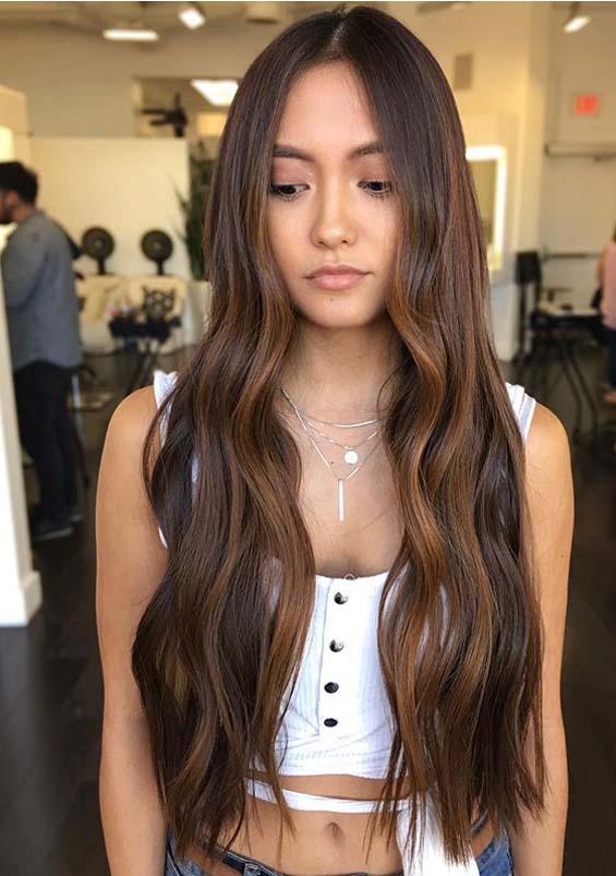 Beachy Brunette Hair Styles for Long Hair in Year 2020