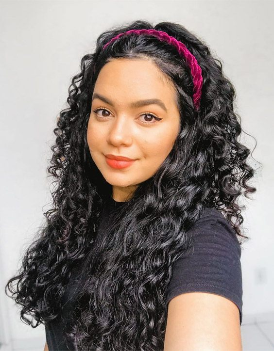 Excellent Look Of Long Curly Hairstyles For 2020 Girls Stylezco