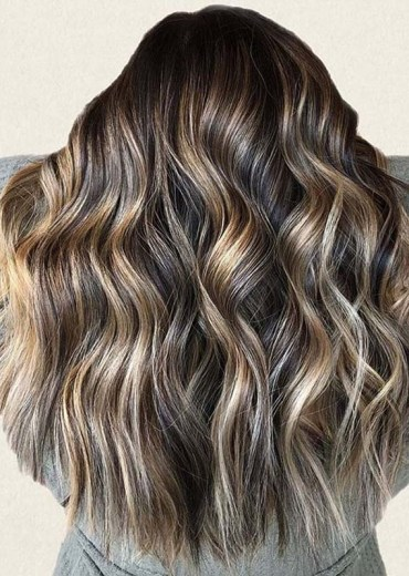 Modern Hair Colors Contrasts to Show Off in Year 2020