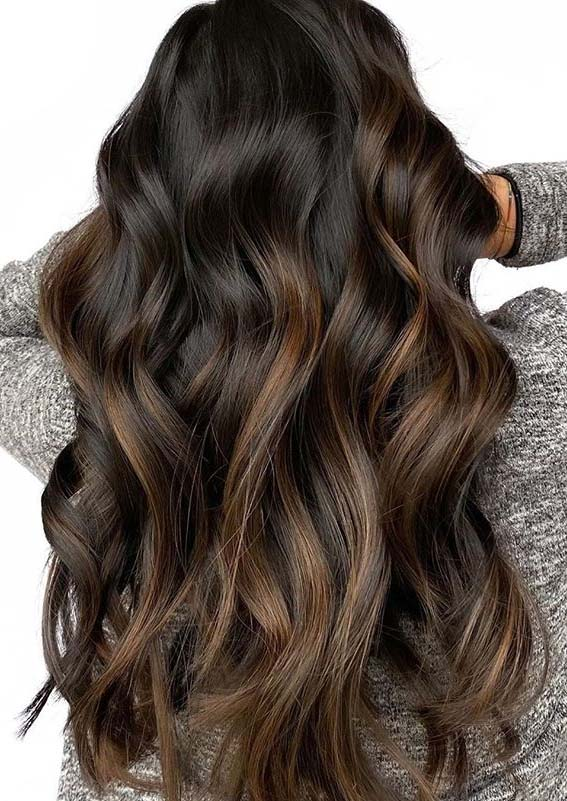 Fantastic chocolate caramel hair color ideas to Follow in 2020