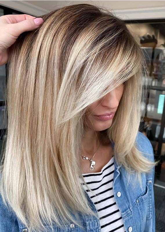 Obsessed Balayage Hair Color Ideas to Follow in Current Year