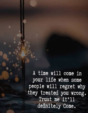Trust me it'll definitely Come - Perfect Time Quotes