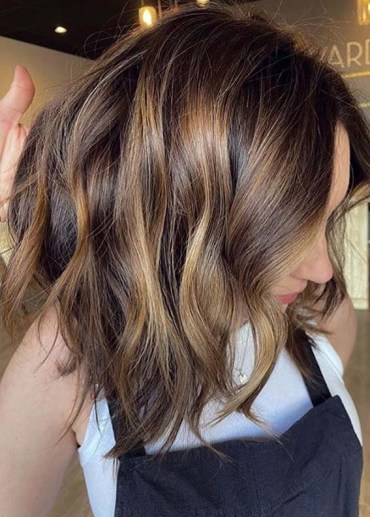 Golden balayage hair Color Tones for Modern Look