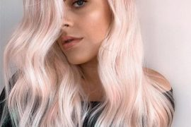 Peach Blonde Hair Color Highlights to Enhance Beauty