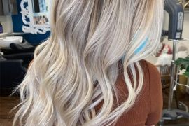 Dazzling Style of Blonde Balayage Hair Color for Glamorous Look