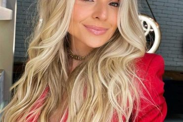 Graceful Paradise Blonde Highlights for Long Hair In 2021