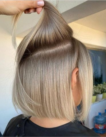 Lovely Look of Short Hair Color to Copy In 2021