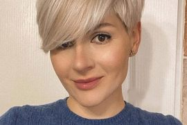Gorgeous Short Hair Color & Haircut Style for 2021