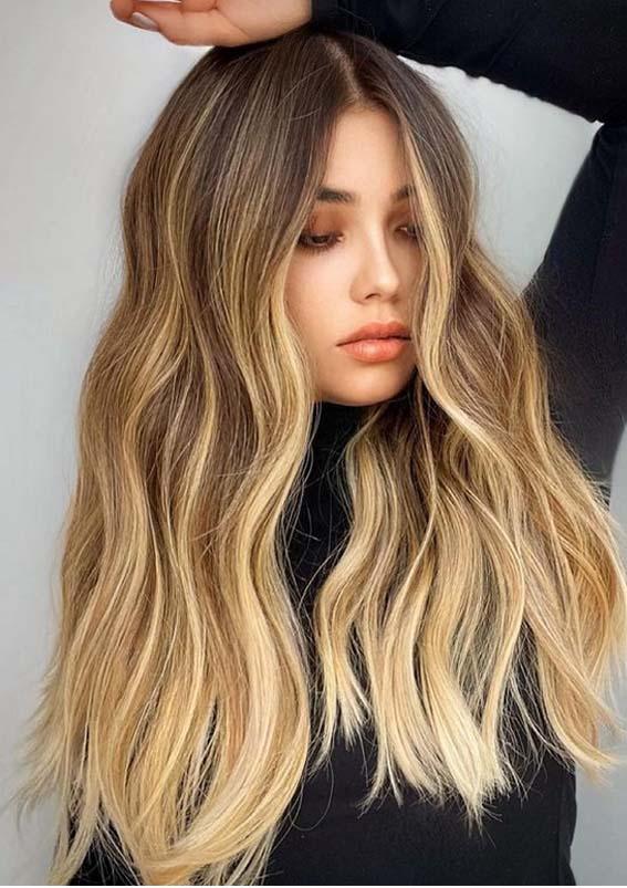 Best Honey Balayage Hair Color Ideas