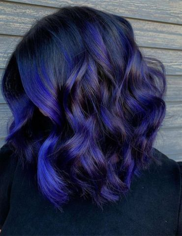 Awesome Style of Blue Hair Color for All Girls