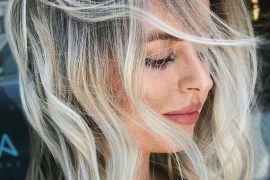 Elegant Blonde Hair Colors with Dark Roots