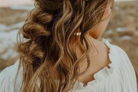 Adorable Wedding Hair Styles to Show Off