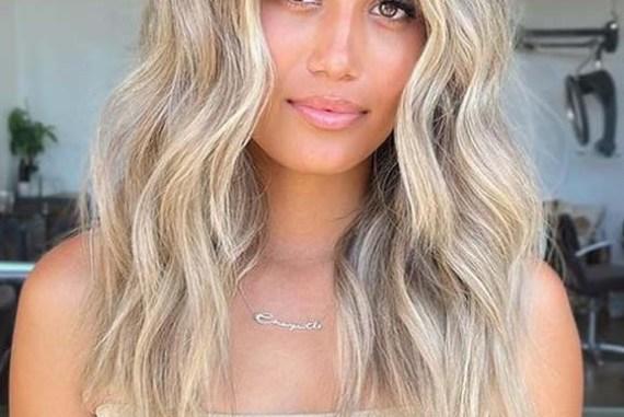 Perfect Summer Beach Blonde Hair Cuts for Medium Hair