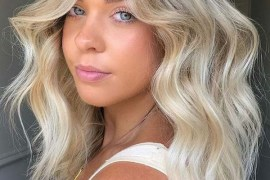 Fresh Vanilla Blonde Hair Color Trends to Show Off