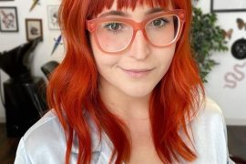 Lovely Style of Hair Color for Medium Length Hair