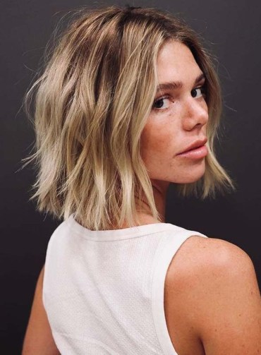 Unique Choppy Blonde Hair Cut Styles to Try