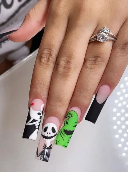 Gorgeous Long Nail Art Ideas