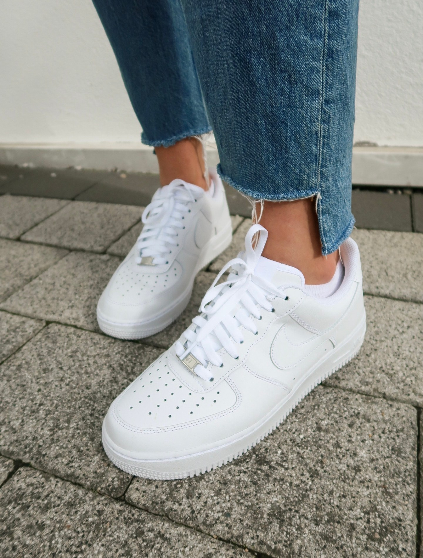 How To Wear Nike Air Force Ones This Autumn High Street Fashion
