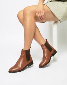 ASOS DESIGN Tan Chelsea Boots