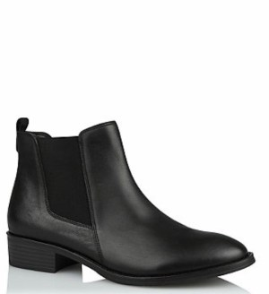 George @Asda Leather Chelsea Boots