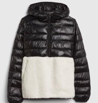 GAP Sherpa Puffer Jacket