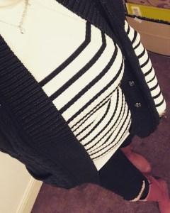 Girl In Stripes
